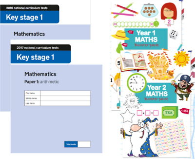 KS1 Maths SATS Papers & Yr 1 & 2 Booster Pack
