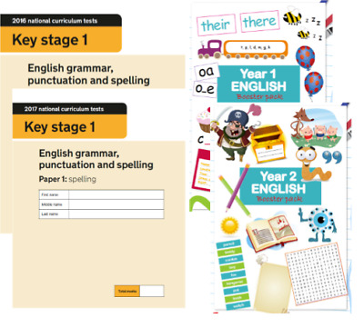KS1 English SATS Papers & Yr 1 & 2 Booster Pack