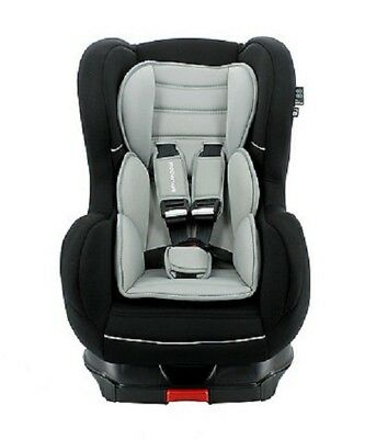 TT Nania Cosmo SP Luxe Isofix Group 1 9m to 4 yrs Reclining Car Seat Black 3t