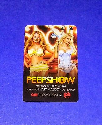 Planet Hollywood Las Vegas 'Peepshow'  Room Key Card Aubrey O'Day Holly Madison
