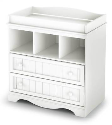 Changing Table with Storage in Pure White [ID 179]