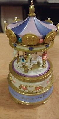 Hallmark Keepsake Ornament Jewelry Box Carousel Christmas 2003