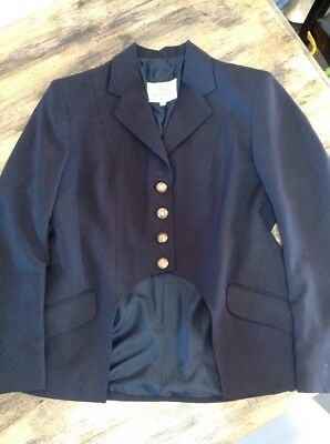 Ascot Outfitters Navy Cutaway Jacket Sz 16