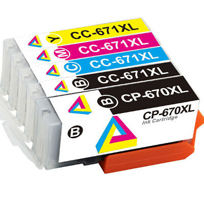 5x Ink Cartridge For HP 564 XL Photosmart 3520 4620 5520 7520 DeskJet 3070A 3520