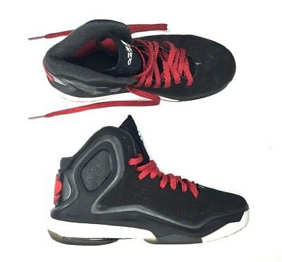promo code 3734d 5ca73 Adidas D Rose 5 Boost Shoes Basketball Trainer Sneaker Black Red Mens Size  7 US
