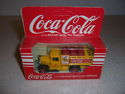 Lledo Diecast Coca Cola Delivery Stake Bed Truck w/ Barrels