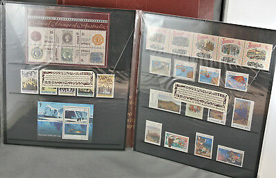 Complete Collection Of 1990 Australia Stamps Deluxe Edition 52 Mint MNH Stamps