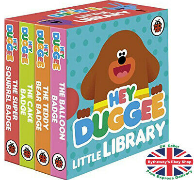 HEY DUGGEE: Little Library Board Book *BRAND NEW*