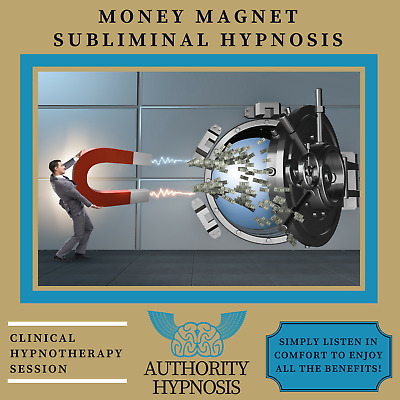 Money Magnet Hypnosis, Attract Wealth, Money Making Ideas, Increase Income