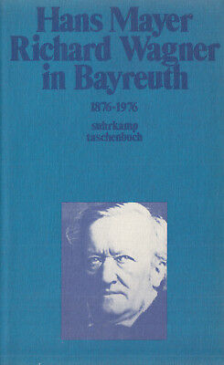 su- t 0480 MAYER : RICHARD WAGNER IN BAYREUTH   1876-1976