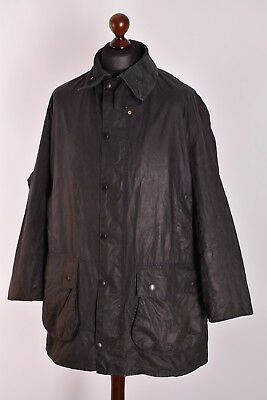 Men's Barbour Border Jacket Size C44 / 112cm Genuine Casual Waxed