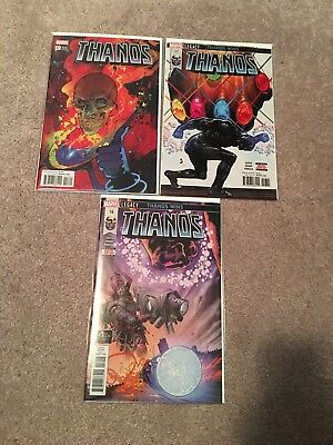 THANOS (2016) #16 & 17 Copies SOLD OUT 1st Print Cosmic Ghost Rider