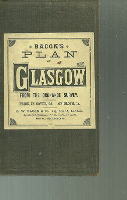 Bacon's Plan of Glasgow from the Ordnance Survey Map
