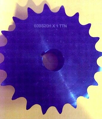 """50BS20H X 1 1//4  TTN Sprocket 1 1//4/"""" Finished Bore 5//8/"""" Pitch 20 Teeth"""