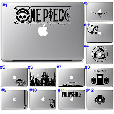 Cool Anime Graphics Sticker Laptop Vinyl Decal Apple Notebook Macbook Air Pro