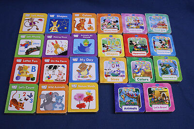 LOT OF 23 Mixed Mini Board Books- Toddlers And Preschool Disney Baby  Einstein