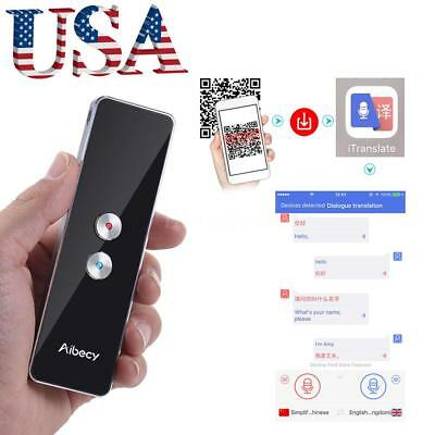 Portable Smart Translator Professional Multi-Languages Translation Device T8N8