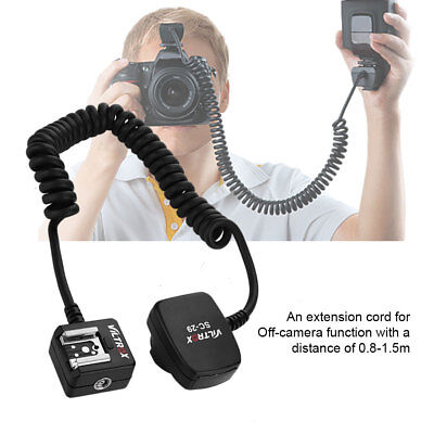 Off-Camera Flash Extension Cord 0.8 Meter for for Nikon Hot Shoe Accessory