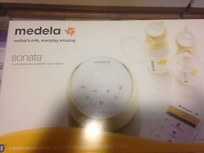 MEDELA SONATA Smart Portable BREAST PUMP Bluetooth NEW & Factory Sealed 58200