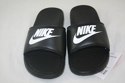 Nike BENASSI JDI Men's Black/White 343880-090 Slide Sandals