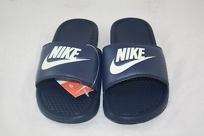 Nike BENASSI JDI Men's Midnight navy/Windchill 343880-403 Slide Sandals