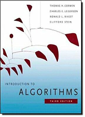 Introduction to Algorithms (The MIT Press) by Stein, C Paperback Book The Cheap