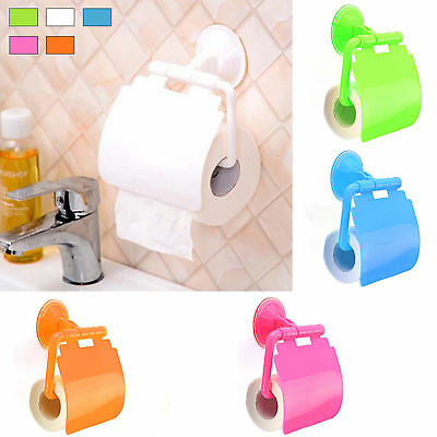Toilet Hot Wall Mounted Bathroom Tissue Box New Roll Paper Sucker Paper Holder