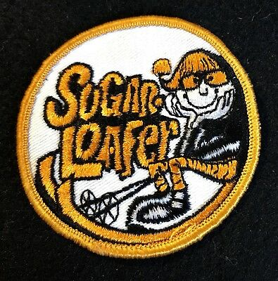 Sugarloaf SUGARLOAFER Vtg Skiing Ski Patch Carrabassett Maine Travel Souvenir