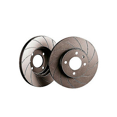 Black Diamond G6 Grooved Front Brake Discs For Nissan 350Z 3.5 V6 Z33 & Roadster
