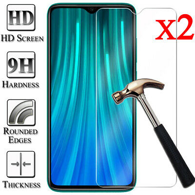 2X Tempered Glass Screen Protector For Xiaomi Redmi 5 Plus 6 6A Note 5 6 7 Pro