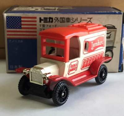 Tomica Type T Ford Commercial Van Blue Box Foreign Car Series from JAPAN F/S