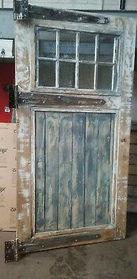 Vintage Wood Carriage Doors
