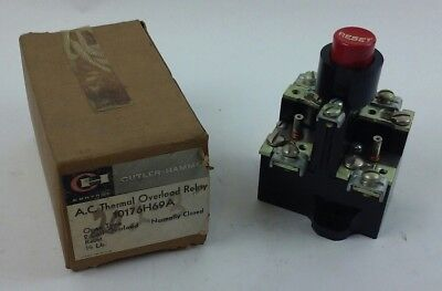 Cutler Hammer AC Thermal Overload Relay 10176H69A (NEW IN BOX) ***LOT OF 3***