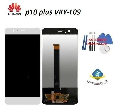 LCD DISPLAY HUAWEI P10 PLUS P10+ VKY-L09 touch screen schermo originale BIANCO