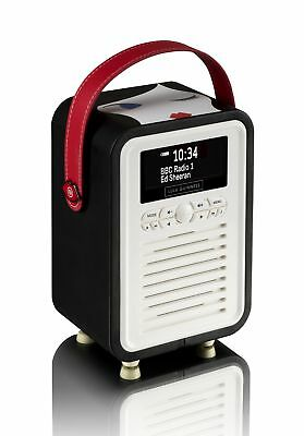 Lulu Guinness Retro DAB Radio With Bluetooth by VQ Winking Doll Face