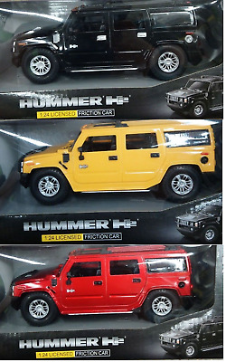 Hummer H2 1:24 Licensed Friction Car Toys Auto Model NEW
