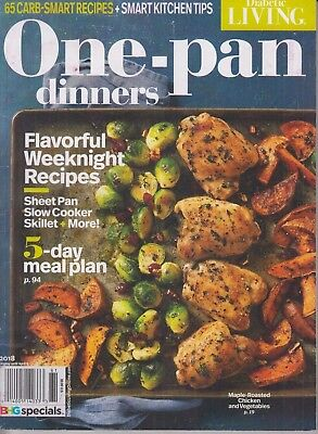 Diabetic Living One Pan Dinners Magazine April 2018 65