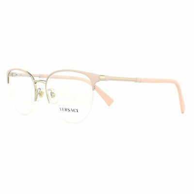 05f5faf906d8 Versace Glasses Frames 1247 1407 Matte Pink and Pale Gold 52mm Womens