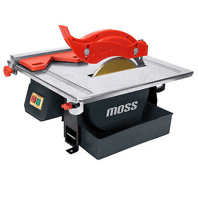 450w Heavy Duty Moss Electric Wet Tile Saw Cutter with Diamond Blade - 36 x 33cm