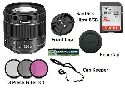 Father's Day Deal Sale Canon Ef-s 18-55mm f/3.5-5.6 Is Ii Slr Lens Starter Kit