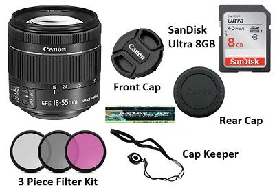Memorial Day Deal Sale Canon Ef-s 18-55mm f/3.5-5.6 Is Ii Slr Lens Starter Kit