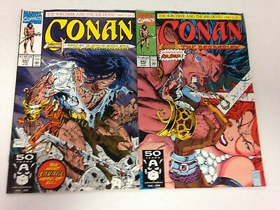 Conan The Barbarian #241 242 243 244 245 246 247 1991 Todd McFarlane Jim Lee cvr