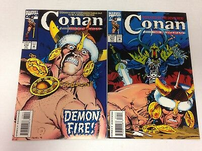 Conan The Barbarian #270 271 272 273 274 275 1993 1994 low print final issues