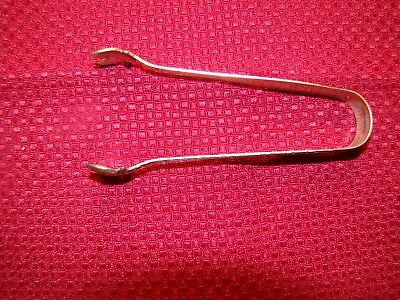 Manchester Manchester Sterling Silver Sugar Tongs No Monogram