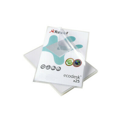 Rexel Nyrex Business Card Pocket A4 Pack of 10