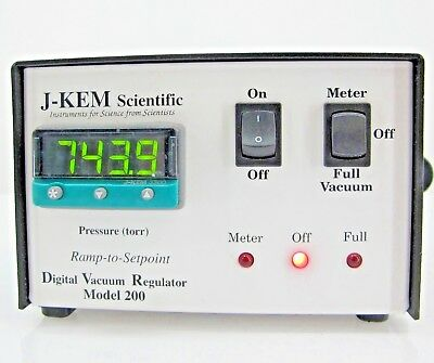 J-KEM Scientific Digital Vacuum Regulator Model 200 #1 tested
