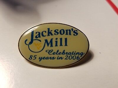2006 JACKSON'S MILL, WV 85th anniversary lapel pin. Pinback. Enameled