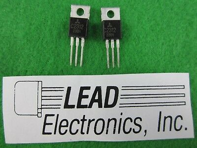 QTY 2 MITSUBISHI 2SC2312  Transistor C2312 FREE SHIPPING IN UNITED STATES