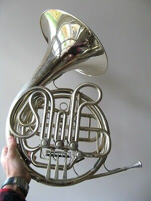Vintage 1970's King Eroica 1170 Double French Horn Professionally Refurbished