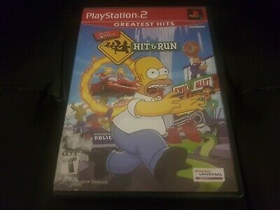 The Simpsons: Hit And Run [PS2] [PlayStation 2] [2003] [Complete!]